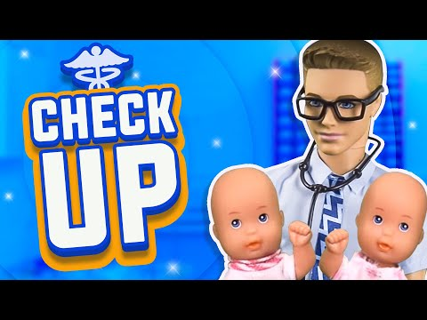 Barbie The Twins Trip To The Doctors Ep 37 Youtube