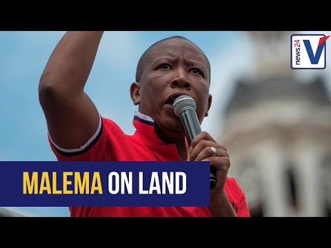 WATCH LIVE: 'Your riches made you self-centred' - Malema slams property owners