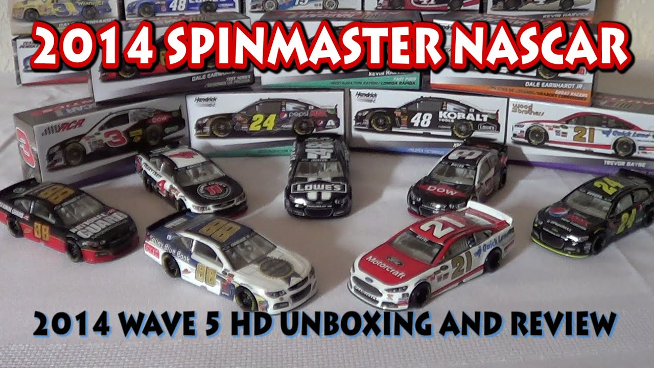 Kobalt Tools Review >> 2014 SpinMaster NASCAR Authentics: Wave 5 HD Review and ...