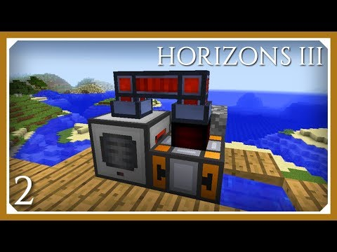 FTB Horizons 3 | Steam Dynamo and Pulverizer Ore Doubling! | E02 (Modded Minecraft 1.12.2)