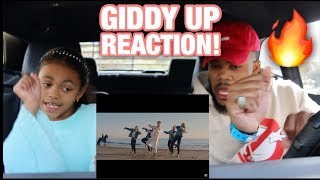 The ACE Family - GIDDY UP (OFFICIAL MUSIC VIDEO) REACTION!