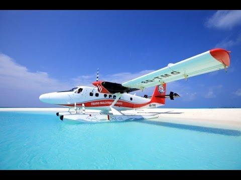 Getting to Kuredu Resort from Male'  Maldives 2015 / TRANS MALDIVIAN AIRWAYS