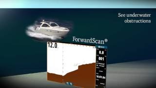 avoid running aground with simrad forwardscan
