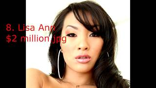 Top 11 Richest Female Porn Stars of all time