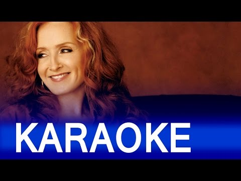 Bonnie Raitt - Something To Talk About Lyrics Instrumental Karaoke