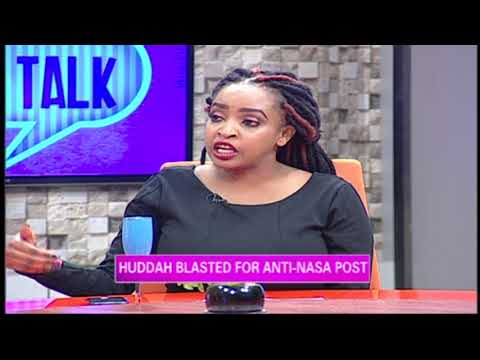 Huddah Blasted For Anti Nasa Post