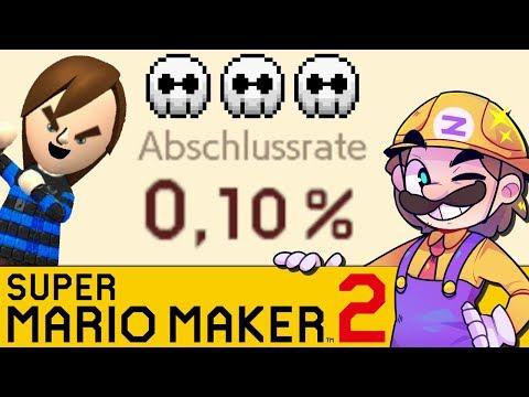 Ich zeige mein Level & GLPs 0,1% Level! | SUPER MARIO MAKER 2 - Zombey