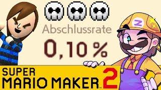 Ich zeige mein Level \u0026 GLPs 0,1% Level! | SUPER MARIO MAKER 2