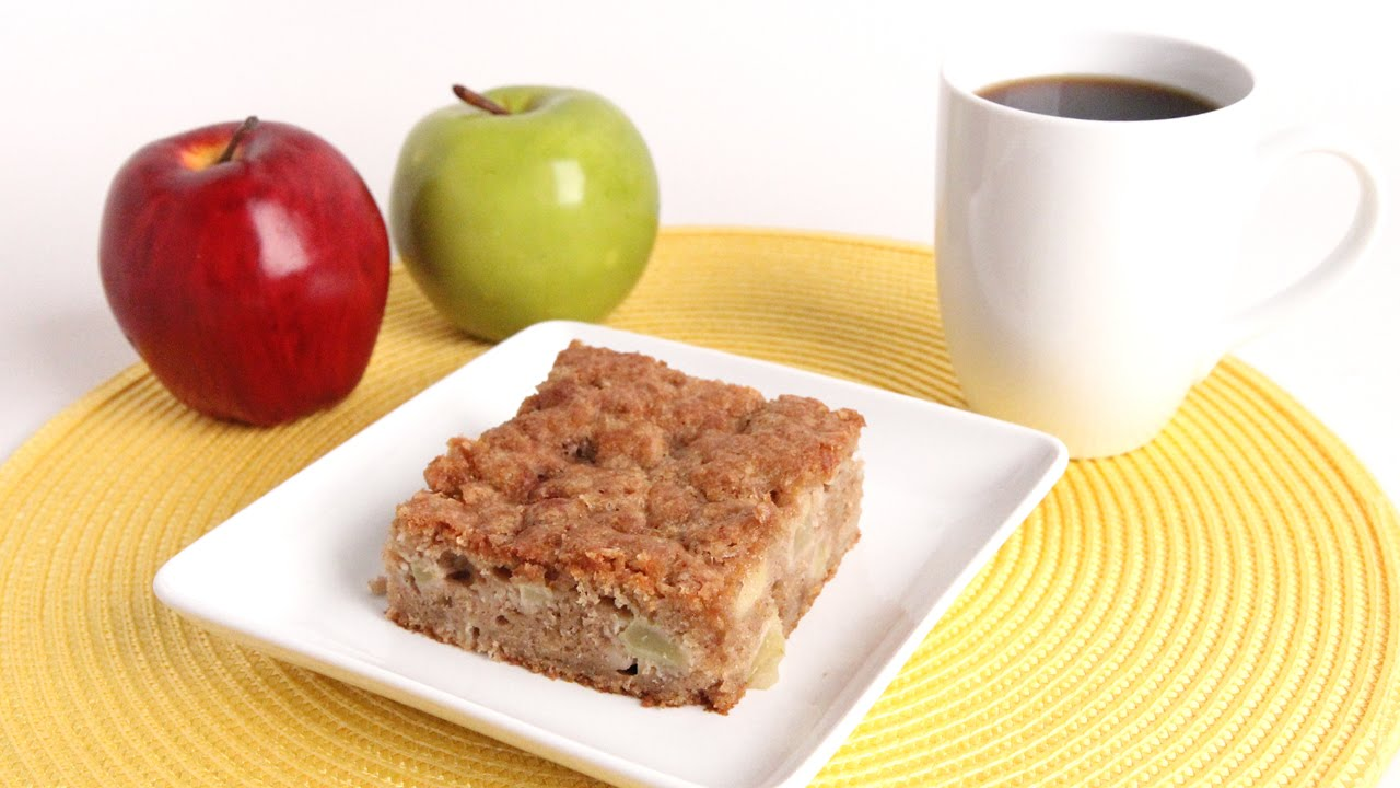 Apple Pie Coffee Cake Recipe - Laura Vitale - Laura in the Kitchen Episode 969