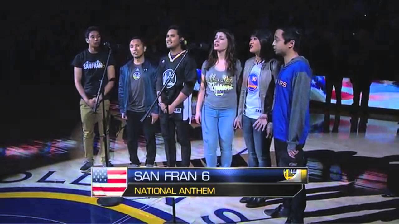 SanFran6 | National Anthem | Golden State Warriors
