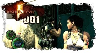 [Resident Evil 5 Koop] mit ❤ Alice LP ❤ / Part #001 \ Chris & Sheva [FULL HD] [GERMAN]