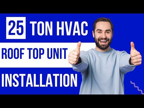 25-ton-rtu-package-unit-commercial-hvac-installation-cedar-park-tx