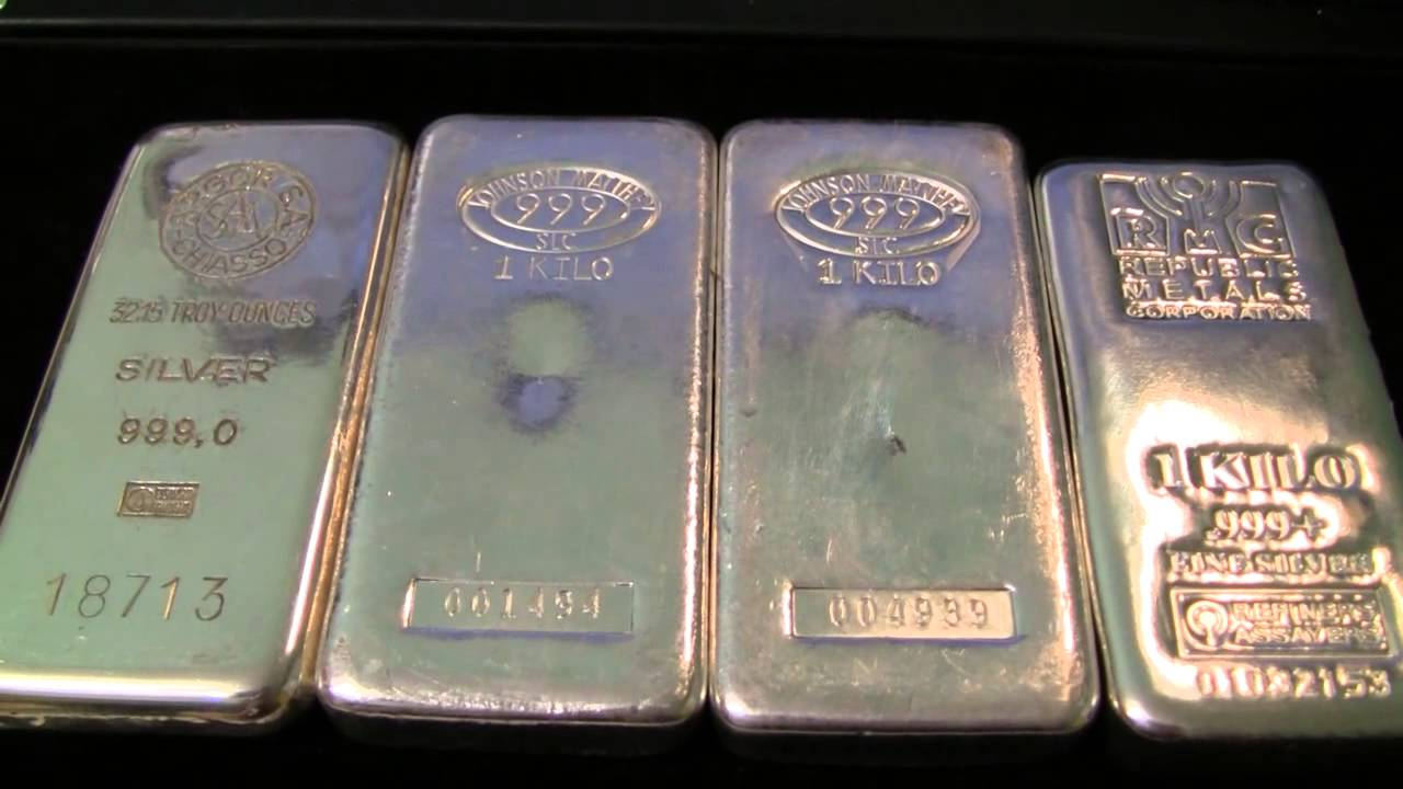 Kilo Silver Bar Comparison Youtube