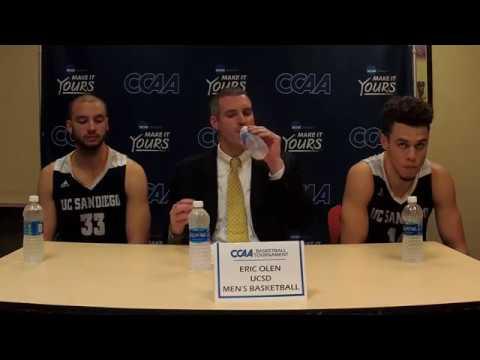 2017-18 CCAA Men's Basketball Championship semifinal #2 - UC San Diego