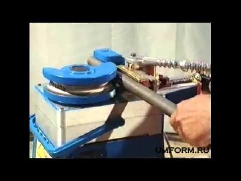 Трубогиб с электродвигателем для труб до 35 мм