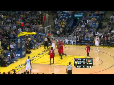 Atlanta Hawks vs Golden State Warriors | March 7, 2014 | NBA 2013-14 Season
