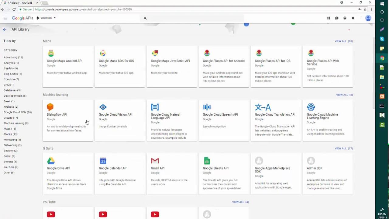 how to get google API key, Public API Key and client ID, Secret Key