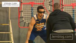 Stephen Curry Has a Secret Weapon - Strobe Glasses