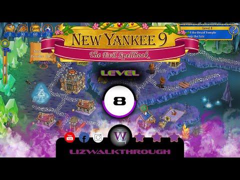 New Yankee 9 - Level 8 Walkthrough (The Evil Spellbook) |