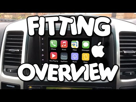 fitting a pioneer sph da120 appradio with apple carplay by. Black Bedroom Furniture Sets. Home Design Ideas