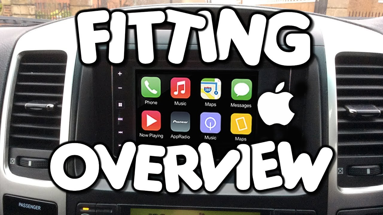 Fitting A Pioneer Sph Da120 Appradio With Apple Carplay By Vegoilguy Land Rover Wiring Diagram Kenwood Car Audio Youtube Premium