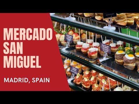 Mercado San Miguel, Madrid - Walk Through