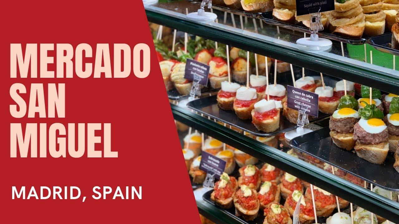 Mercado San Miguel Madrid Walk Through Youtube