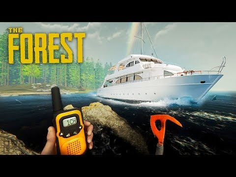 WE FOUND A BOAT!! (The Forest)
