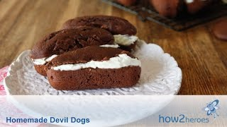 How To Make Homemade Devil Dogs