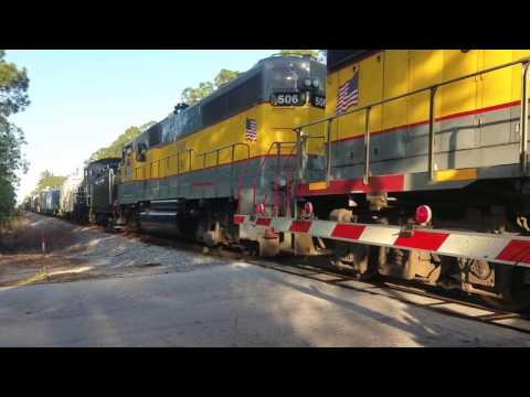 FEC Steam 253 Move Crossing Compilation - Ft Pierce to Canal Point