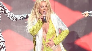 Britney Spears Caught Lip Syncing During Her Performance At MTV VMA's 2016