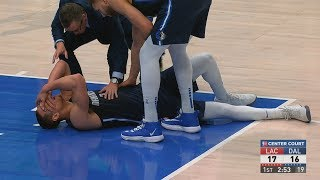 Powell Injury, Both Kawhi and Luka 36 Points! 2019-20 NBA Season