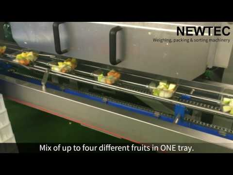 Weighing And Packing Of Mixed Fruits