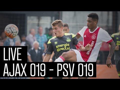 LIVE Ajax O19 - PSV O19