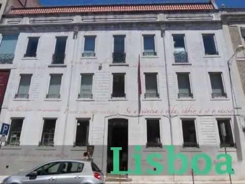 Fernando Pessoa - Casa / House -- Lisboa (Portugal)
