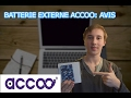 ACCOO: Une batterie externe UNIQUE