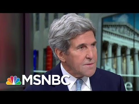 John Kerry: President Donald Trump's Rhetoric Pushes People Away | Morning Joe | MSNBC