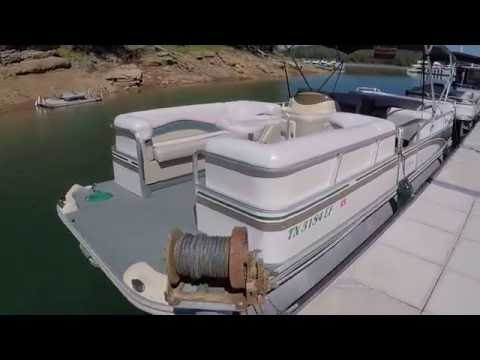 2000 Fisher Freedom 240DLX Pontoon Boat With 90HP 4-Stroke For Sale On Norris Lake TN - SOLD!