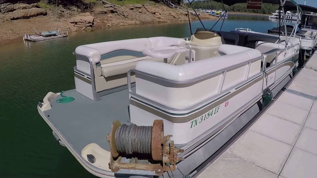 2000 fisher freedom 240dlx pontoon boat with 90hp 4 stroke for sale mix 2000 fisher freedom [ 1280 x 720 Pixel ]