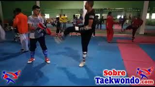 Entrenamiento de resistencia a la rapidez en Taekwondo
