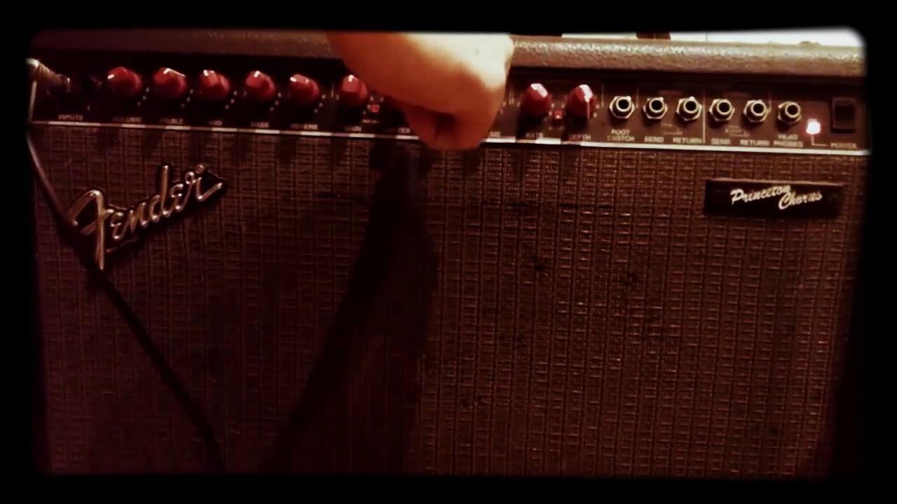 Amplificador Fender Princeton Chorus Sound Test