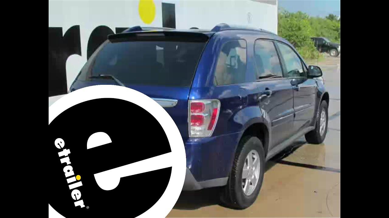 Installation Of A Trailer Hitch On 2006 Chevrolet Equinox Chevy Wiring Etrailercom Youtube