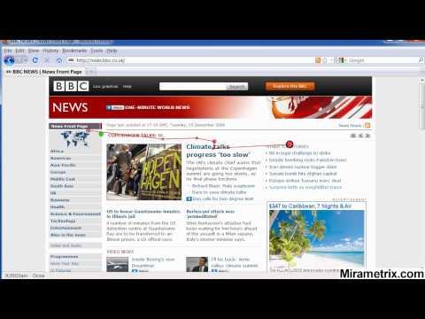 BBC News Reading Eye tracking Study