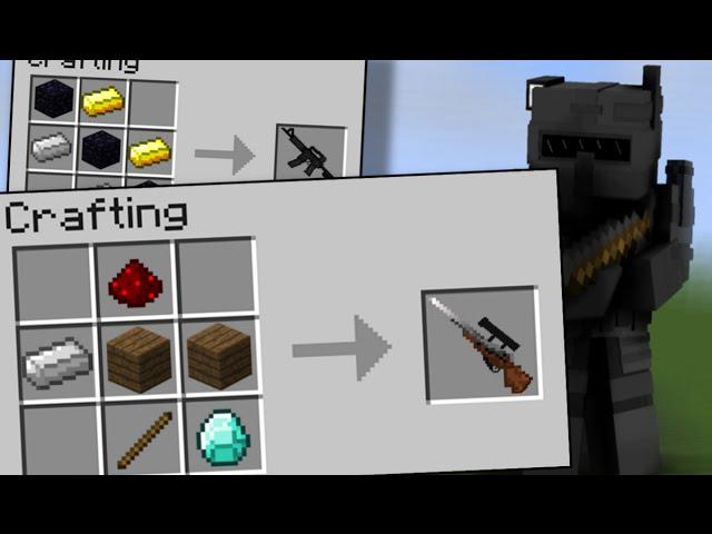 как сделать в майнкрафте на выживание вещи и оружие #4