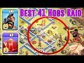 BEST NEW 41 HOGS + 2 SKELETONE SPELL RAID - TH12 WAR ATTACK STRATEGY ( Clash of Clans )