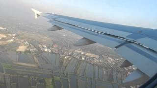 Airbus A320 Bangkok Airways. Бангкок-Пхукет. Взлет