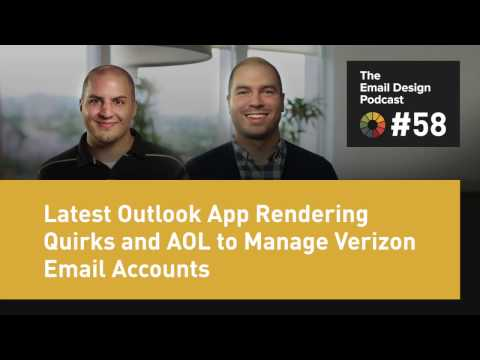 How to set up verizon aol email on outlook