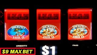 Unbelievable ! 3 Times PROGRESSIVE JACKPOTS WON | Dragon Twin Fever Slot Machine $6 Bet Bonus Win