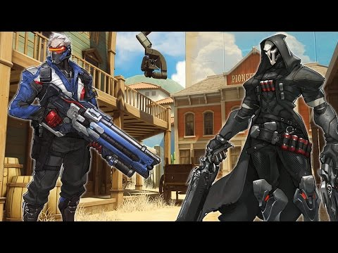 Soldier 76/Reaper | Pentakill Game Saver | Hollywood Competitive