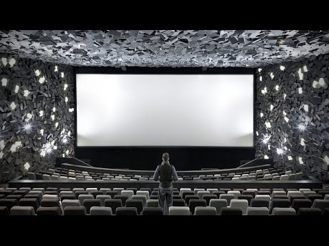 "One Plus Partnership's cinema interior resembles ""a big explosion"""